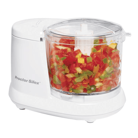Hachoir 375 ml (1Â? tasse) - Proctor Silex | 1.5 Cup Food Chopper With Pulse - Proctor Silex