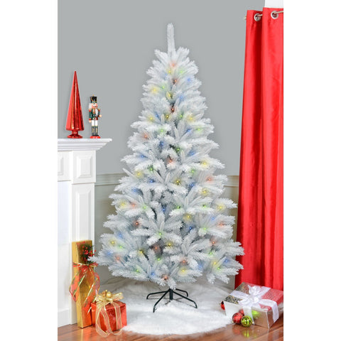 7' Noble Pine Tree, 1120 Tips, 400Led
