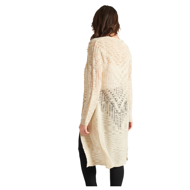 Pointelle Cardigan - Beige - Magasins Hart | Hart Stores