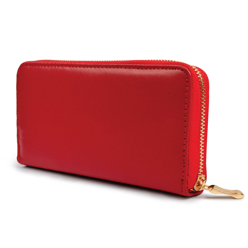 Ladies Red Wallet - Magasins Hart | Hart Stores