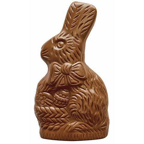 O'HARE JR - Solid Milk Chocolate Bunny - with Rice Crisps