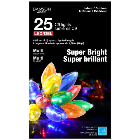 25 C9 Outdoor Smooth Ultra Bright Led
