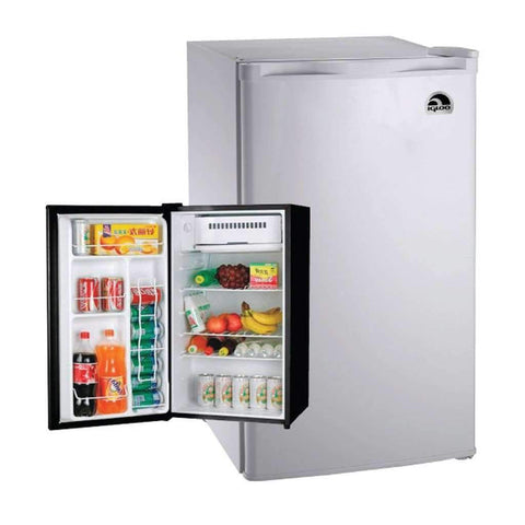 Refrigerator 3.2cu Ft Igloo Black