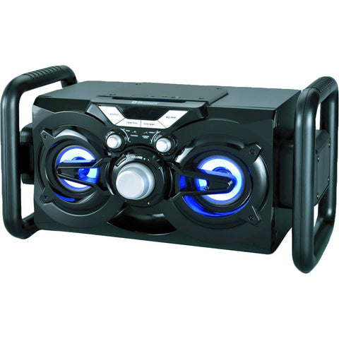 Bluetooth Portable Cd Radio Boombox With Led Lights