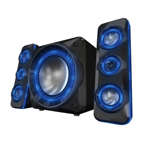 Sylvania - Light-Up Bluetooth 2.1 Speaker System