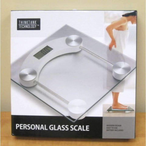 ThinkTankTechnology - Balance en verre | ThinkTankTechnology - Personal Glass Scale