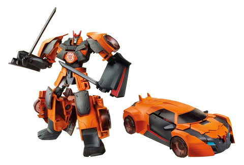Transformers Robots in Disguise - Figurine Sideswipe de classe Guerrier | Transformers Robots in Disguise Warrior Class Sideswipe Figure