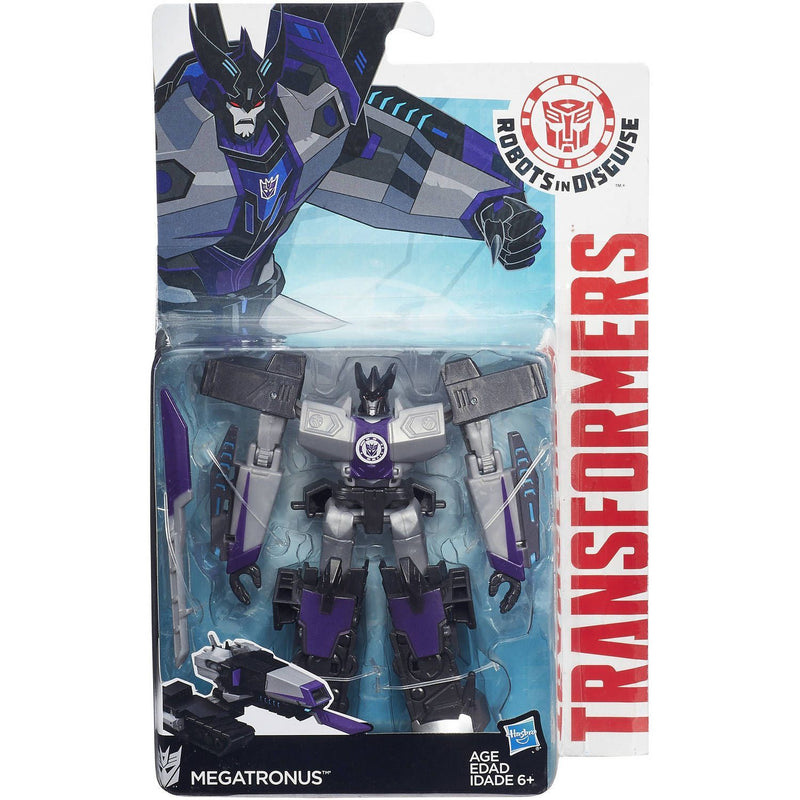 Transformers Robots in Disguise Warrior Class Decepticon Megatronus Figure - Magasins Hart | Hart Stores
