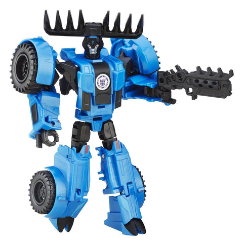 Transformers Robots in Disguise - Thunderhoof de classe Guerrier (version Weaponizers) | Transformers: Robots in Disguise Warrior Class Thunderhoof (Weaponizers version)