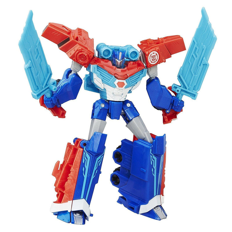 Transformers: Robots in Disguise Warrior Class Power Surge Optimus Prime - Magasins Hart | Hart Stores