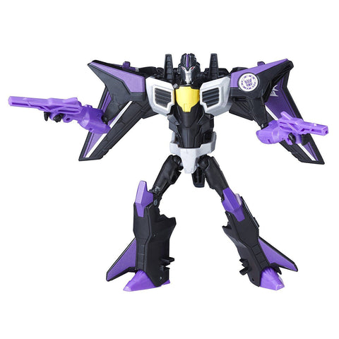 Transformers: Robots in Disguise - Combiner Force - Skywarp de classe guerrier | Transformers: Robots in Disguise Combiner Force Warriors Class Skywarp
