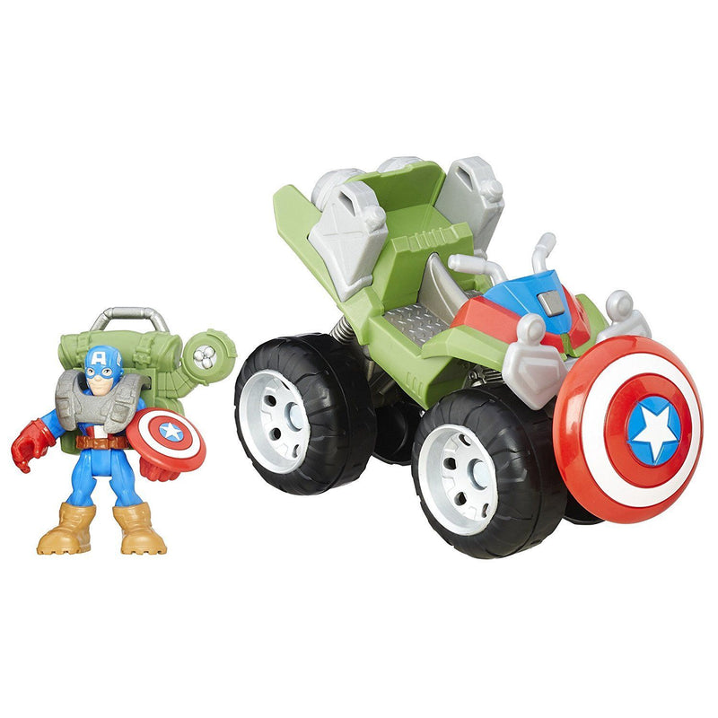 Playskool Heroes Marvel Super Hero Adventures Flip-Out Stunt Buggy Vehicle - Magasins Hart | Hart Stores