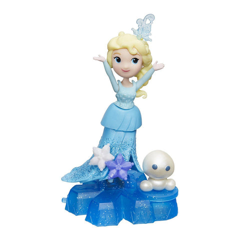 Disney Frozen mini Royaume - Elsa | Disney Frozen Little Kingdom Elsa with Shimmers