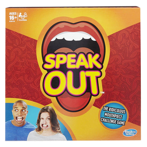 Jeu Mâche mots | Speak Out Game