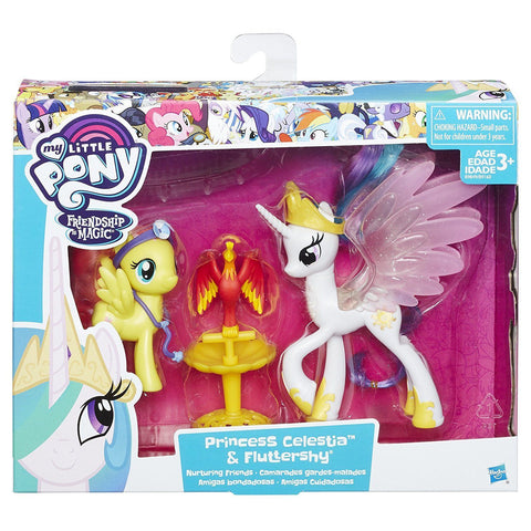 My Little Pony - Princesse Celestia et Fluttershy Camarades gardes-malades | My Little Pony Friendship Pack Princess Celestia and Fluttershy