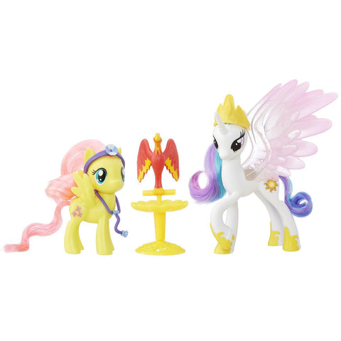 My Little Pony - Princesse Twilight Sparkle et Applejack Amitiés princières | My Little Pony Friendship Pack Princess Twilight Sparkle and Applejack