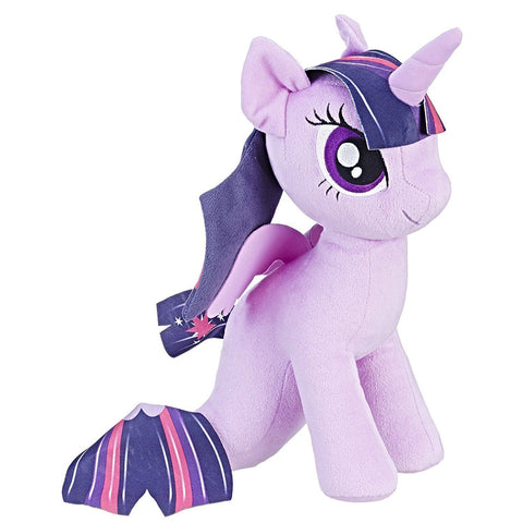 My Little Pony the Movie - Peluche du poney-sirène Princesse Twilight Sparkle | My Little Pony the Movie Princess Twilight Sparkle Sea-Pony Cuddly Plush