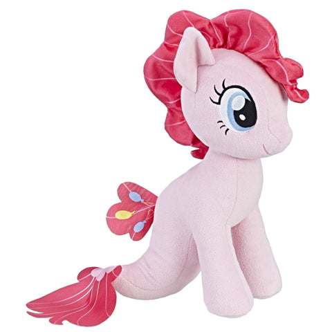 My Little Pony the Movie - Peluche du poney-sirène Pinkie Pie | My Little Pony the Movie Pinkie Pie Sea-Pony Cuddly Plush
