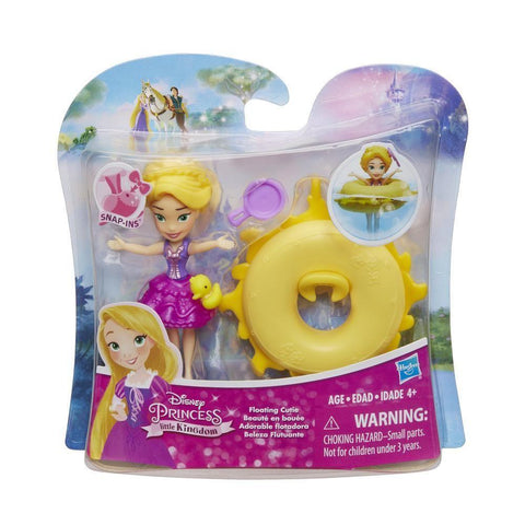 Disney Princess mini Royaume Raiponce - Beauté en bouée | Disney Princess Little Kingdom Floating Cutie Rapunzel