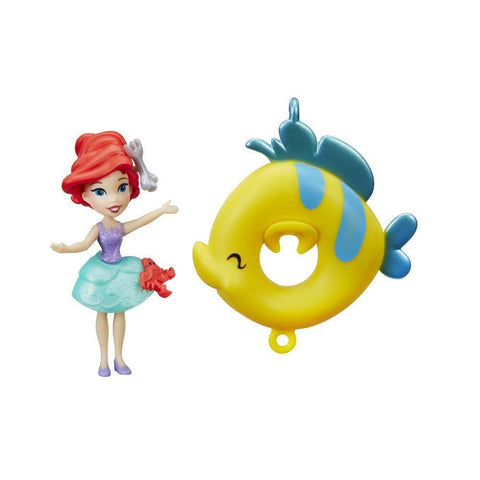 Disney Princess mini Royaume Ariel - Beauté en bouée | Disney Princess Little Kingdom Floating Cutie Ariel