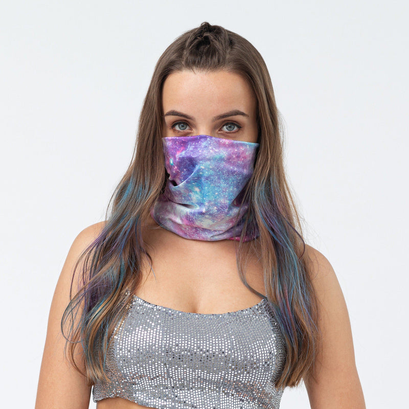 Bandana Face Mask - Pink Universe (Available online only) - Magasins Hart | Hart Stores