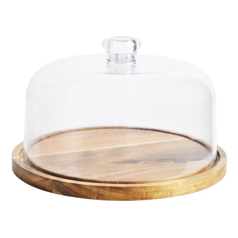 Plateau de fromage avec dôme Acacia 25cm | Acacia 25cm Cheese Board and Dome