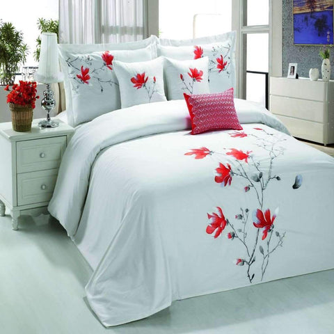 Alice 6 Piece Comforter Set - Pink