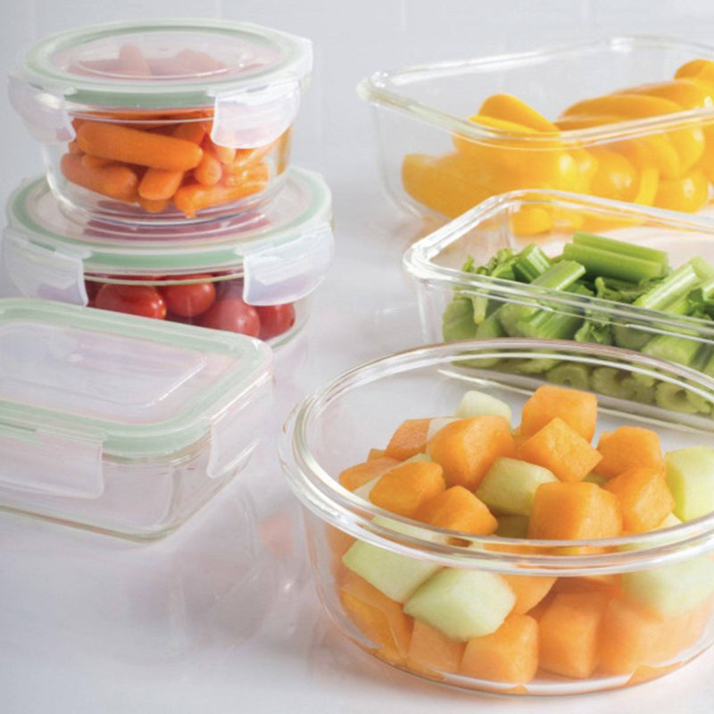 À LA CUISINE - Glass Food Container -Round - 400 ml - Magasins Hart | Hart Stores