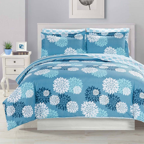 Astoria Ensemble de douillette imprimée MF 7mcx | Astoria 7pc Printed MF Comforter Set