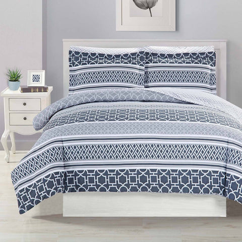 Astoria 7pc Printed MF Comforter Set