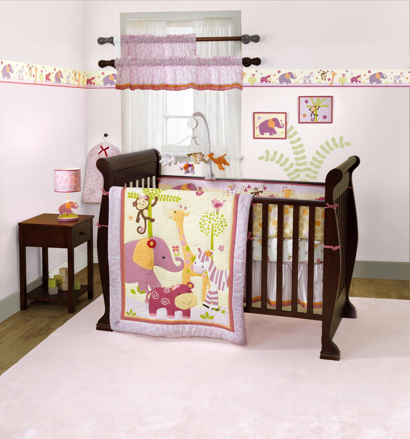 4pc Baby Crib Bedding Set Lil Friends - Magasins Hart | Hart Stores