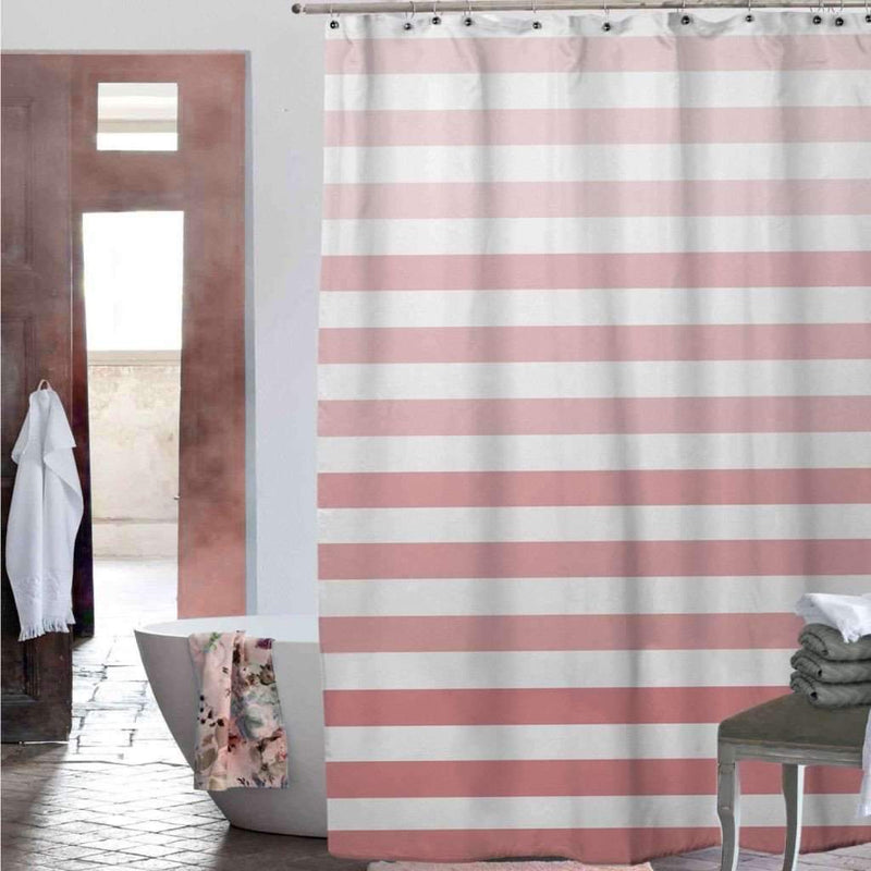 Chiara Shower Curtain - Coral - Magasins Hart | Hart Stores