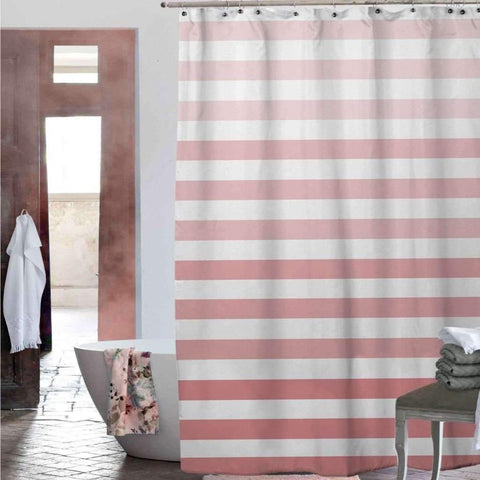 Chiara Shower Curtain - Coral