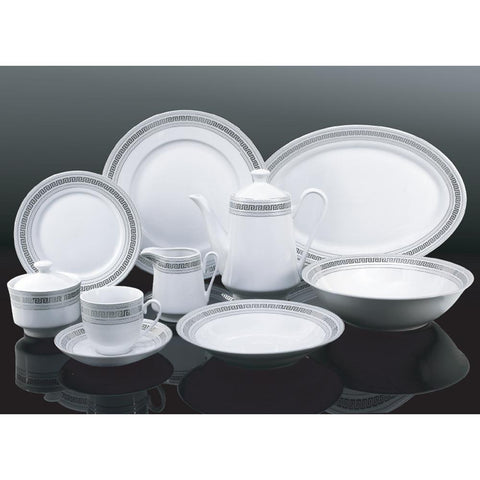 Ensemble service de table 47mcx - service pour 8 personnes | 47pc Dinnerware Set - Service for 8 people