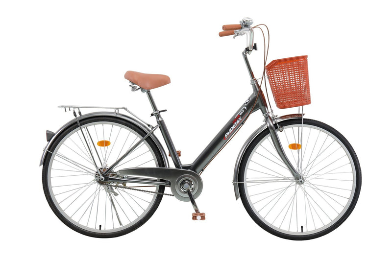 "Phoenix - Ladies Bike with Basket (26"") - Magasins Hart 