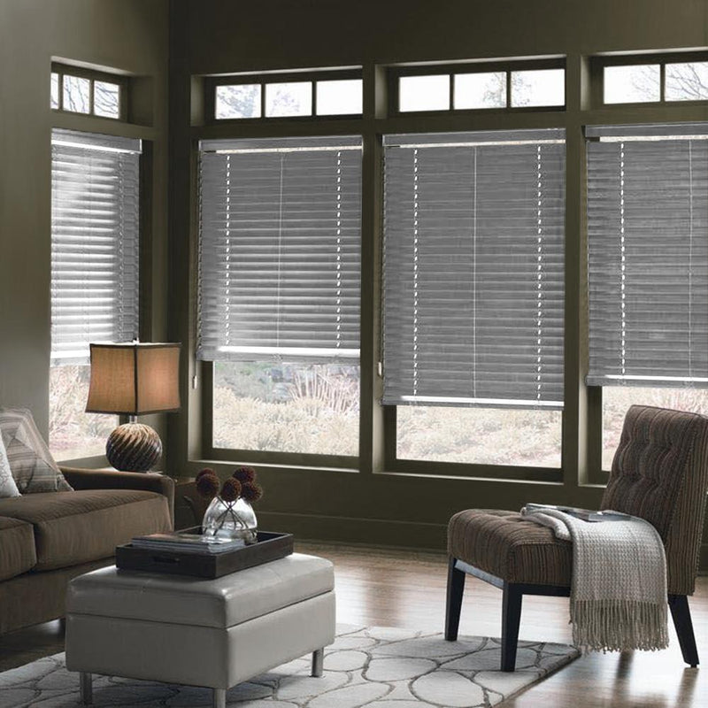 Faux Wood Blinds - Grey - Magasins Hart | Hart Stores
