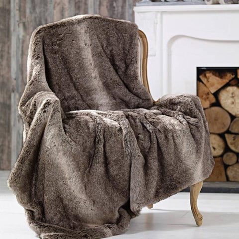 Adrien Lewis - Faux fur Throw