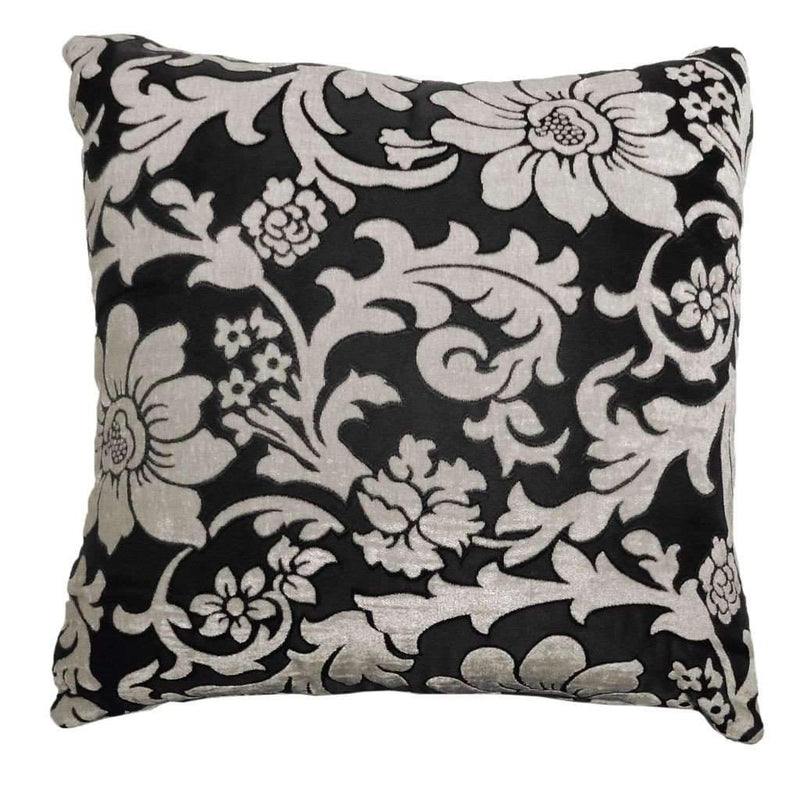 Floral Cushion - Black/white - Magasins Hart | Hart Stores