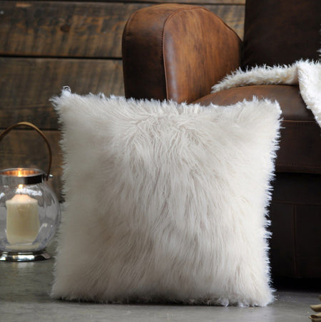 Faux Fur Decorative Pillow - Magasins Hart | Hart Stores