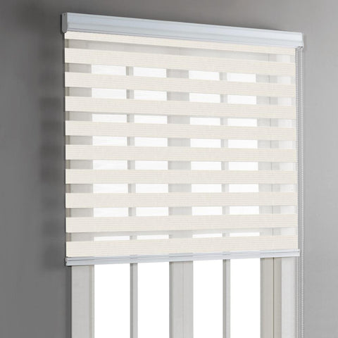 Roller Blind Day & Night - Ivory