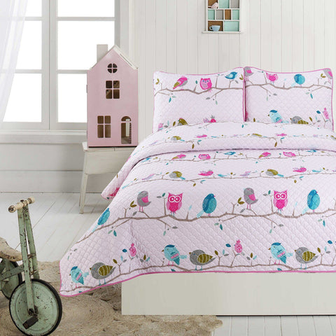 Leila 3 Piece Kids Quilt Set