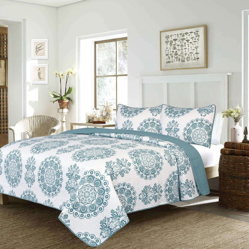 Truman - 3 Piece Quilt Set - Full/Queen - Magasins Hart | Hart Stores
