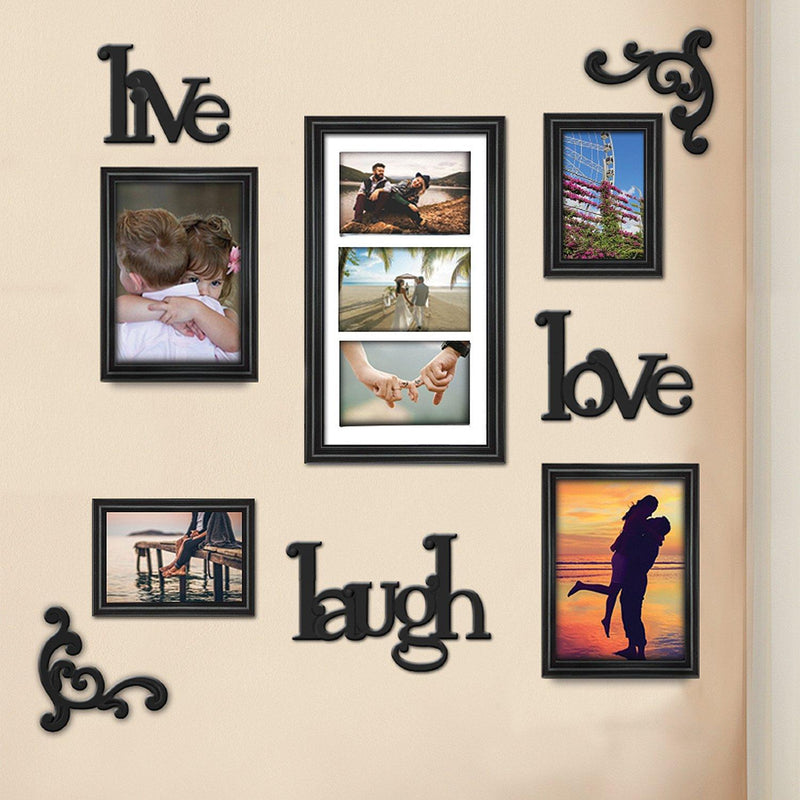 Lauren Taylor - Live Laugh Love 9 Piece Wall Frames Set - Magasins Hart | Hart Stores