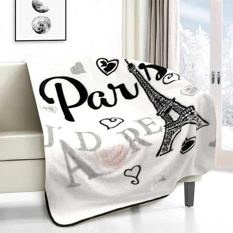 Lauren Taylor - Paris J'adore Novelty Micro Mink Throw
