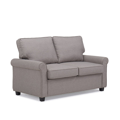 Sandra Venditti - 2 Seat Sofa w/ Bed Function, Light Grey
