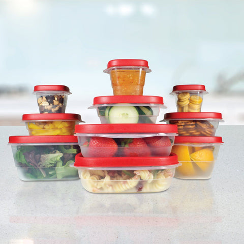À la Cuisine - 20 Piece Plastic Food Containers
