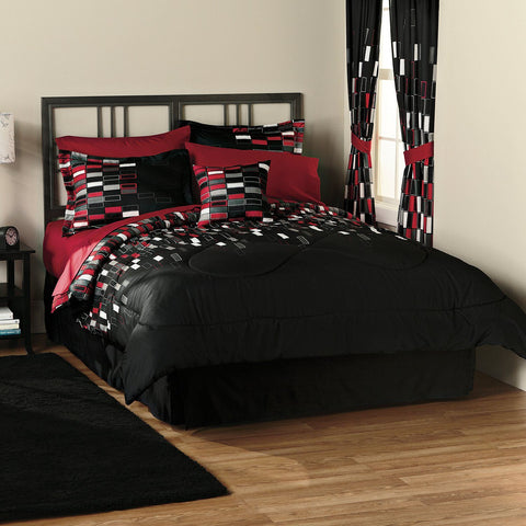 Ricardo 8pc Printed MF Comforter Set