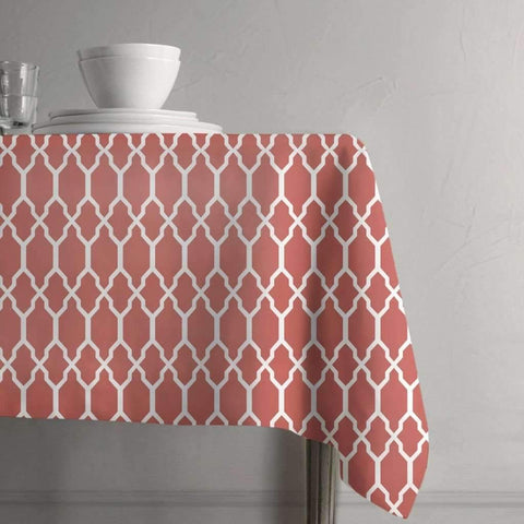 Nappe de table Tangier - Corail | Tangier Tablecloth - Coral