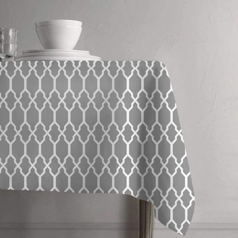 Tangier Tablecloth - Grey