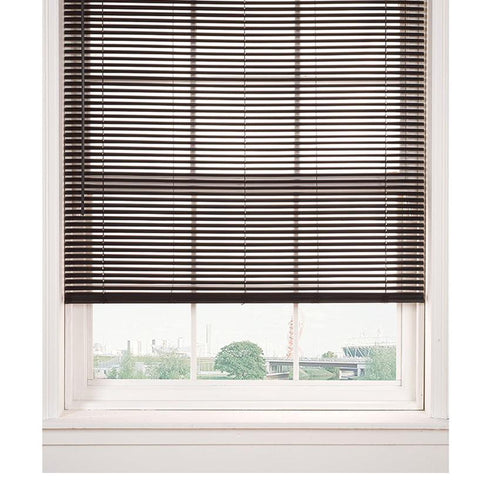 PVC Venetian Blinds - Chocolate
